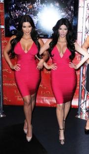 Kim Kardashian at Madame Tussaudes